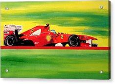 Alonso Ferrari Watercolour Acrylic Print