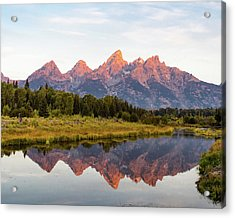 Acrylic Print featuring the photograph Alpen Glow by Mary Hone