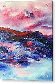 Alpenglow Acrylic Print