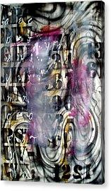 Alphabet Acrylic Print by Leigh Odom