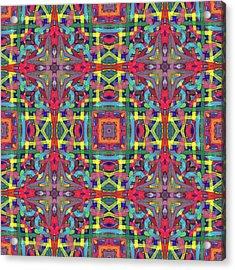 Alphabet Soup -multi-pattern- Acrylic Print