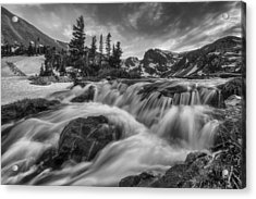 Alpine Flow Acrylic Print