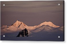 Alpine Glow - Antarctica Acrylic Print