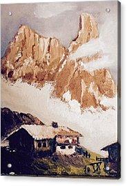Alpine Home  Acrylic Print
