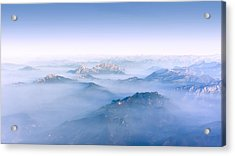Alpine Islands Acrylic Print