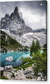 Acrylic Print featuring the photograph Alpine Lake by Yuri Santin