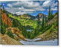 Alpine Solitude Acrylic Print
