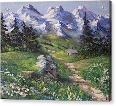 Alpine Splendor Acrylic Print