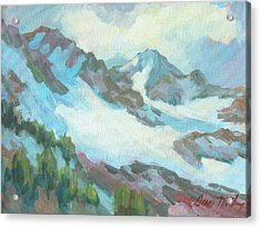 Alps In Switzerland Acrylic Print by Diane McClary