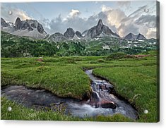 Alps In The Afternoon Acrylic Print