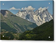 Alps In The Distance Acrylic Print