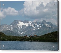 Alps Magenificence Acrylic Print