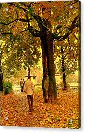 Already Autumn Acrylic Print
