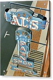 Al's  Acrylic Print by Van Cordle