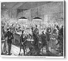 Alsace-lorraine, 1872 Acrylic Print by Granger