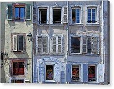 Alsation Windows Acrylic Print by Joachim G Pinkawa