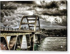 Alsea Bay Bridge Acrylic Print