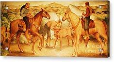 Alta California Rancheros Acrylic Print by Pg Reproductions