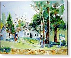 Alta/dutch Flat School Acrylic Print