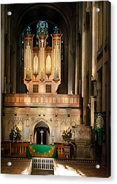 Altar At Sunset Acrylic Print