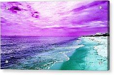 Alternate Beach Escape Acrylic Print