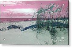 Alternate Beachscape  Acrylic Print by Rachel Hannah