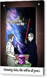 Alternate Universe Episode Vi Acrylic Print