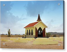 Alto Vista Chapel Of Aruba Acrylic Print by Design Turnpike