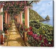 Altre Colonne Sul Golfo Acrylic Print