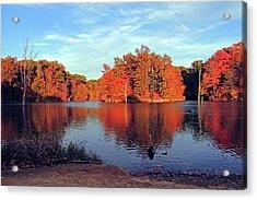 Alum Creek Landscape Acrylic Print