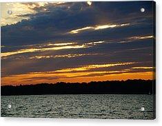 Alum Creek Sunset Acrylic Print