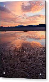 Acrylic Print featuring the photograph Alvord Sunset by Brian Bonham