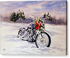 Acrylic Print featuring the painting Always A Good Day For A Ride by Vikki Bouffard