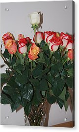Acrylic Print featuring the photograph Always A Rose by Vadim Levin