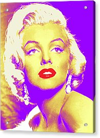 Always Marilyn Acrylic Print by Joy McKenzie