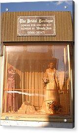 Always The Bridesmaid Acrylic Print by Jez C Self