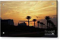 Alys At Sunset Acrylic Print