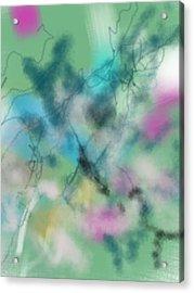 Alzheimer Work  Acrylic Print
