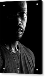 Acrylic Print featuring the photograph Am. by Eric Christopher Jackson