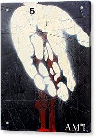 Am I Acrylic Print by Iain Barnes