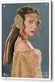 Amadala Acrylic Print by Tom Carlton