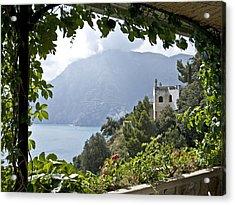 Amalfi Coast Acrylic Print by JR Harke Photography