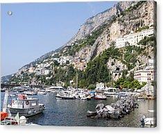 Amalfi Coast Italy Acrylic Print by Allan Levin