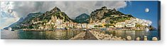 Acrylic Print featuring the photograph Amalfi by Steven Sparks