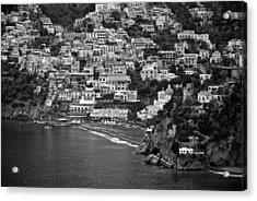 Amalfi's Positano Acrylic Print by Eric Tressler