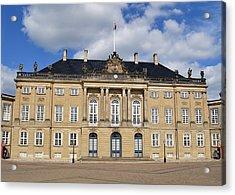 Amalienborg Palace. Acrylic Print