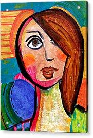 Amanda - Vivid Vixen 1 Acrylic Print