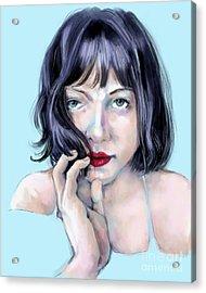 Amanda Acrylic Print
