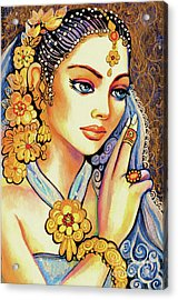 Acrylic Print featuring the painting Amari by Eva Campbell