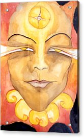 Amaterasu Acrylic Print by Erika Brown
